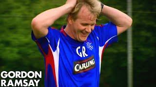 Gordon Ramsay Playing Football by Gordon Ramsay