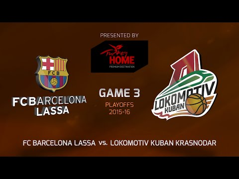 Highlights: Playoffs Game 3, FC Barcelona Lassa 82-70 Lokomotiv Kuban Krasnodar