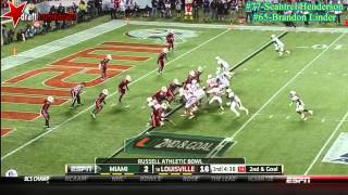 Brandon Linder vs Louisville (2013)