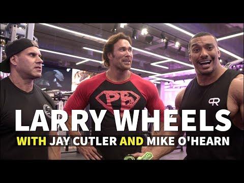 JAY CUTLER, MIKE O HEARN, LARRY WHEELS