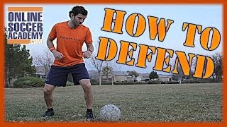 How To Defend Against Fast Attackers - Online Soccer Academy