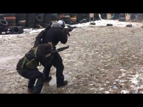 Тренировка. Карабин работа в паре - DomaVideo.Ru