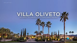 Welcome to Villa Oliveto, the most private estate within the gates of PGA West. Designed by distinguished architect Andrzej W.