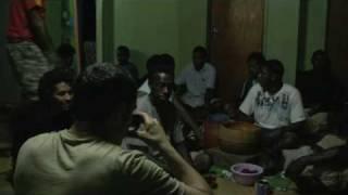 Drinking Kava At Traditional Fiji Ceremony