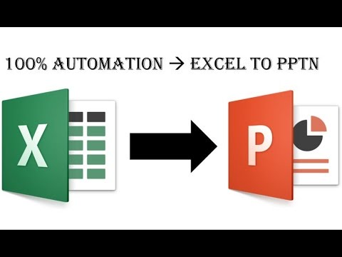 100% PPT Automation From Excel (2016) | How To Make Life Easier?