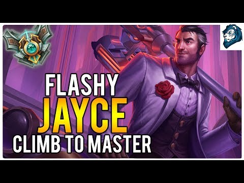 FLASHY JAYCE - Climb to Master | League of Legends