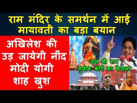 Big News Mayawati Ram Mandir Ayodhya Supreme Court