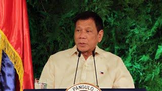 Duterte gives first speech as President
