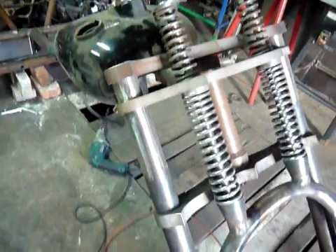 trike construction - automatic transmission. Ford engine 1800 ccm. 115 KM.