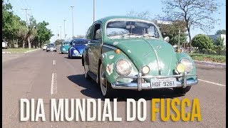 Dia Mundial do Fusca é comemorado em Campo Grande com encontro e desfile de raridades pelas ruas da cidade.