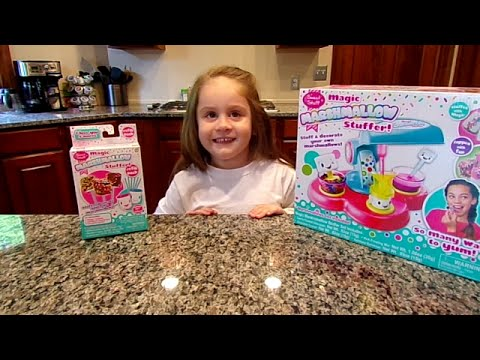 Magic Marshmallow Stuffer by Sweet Stuff on Chloe's Toy Time! (видео)