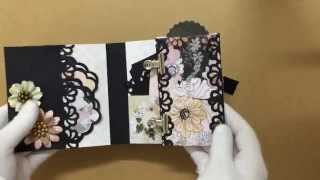 Hello Everyone, This is my handmade mini albums that I've completed yesterday. I was super excited while designing it and...