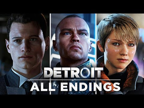 All 99+ Endings (all Secret Endings) Completed - Detroit Become Human