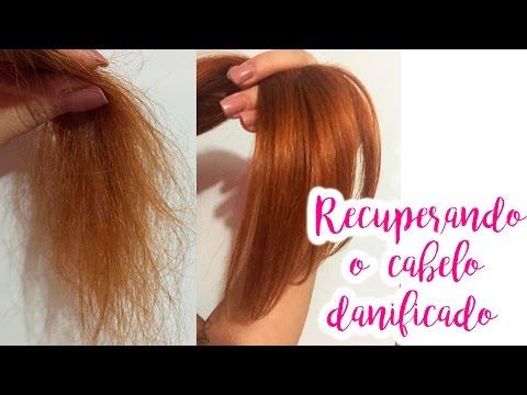 Recuperar o cabelo danificado