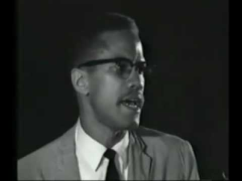 Malcolm X, speech in New York, 1964