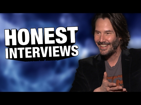 Keanu Reeves has got to be the coolest guy to interview (Honest Interview)