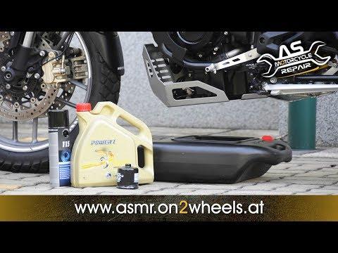 ÖLWECHSEL MOTORRAD - SERVICE TEIL 1- Triumph Tiger 800 XC