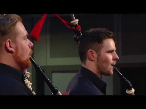 Avicii's wake me up...played by pipers!
