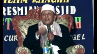 Pengajian Umum  K.H Abd. Sattar Dahsyatnya Rumah Allah