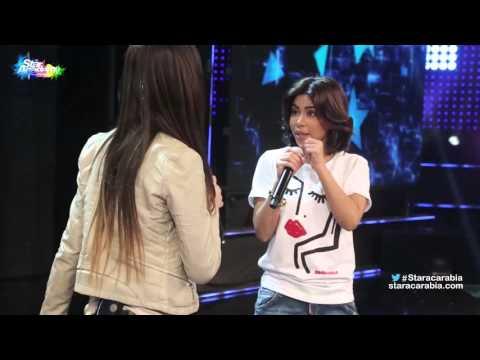 """بالفيديو- شيرين عبد الوهاب تطلب من جمهورها انتظارها في """"ستار أكاديمي""""..""""هنكسر الأرض """""""