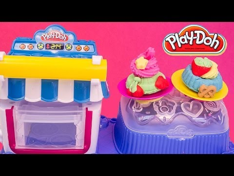 Play Doh Sweet Shoppe Double Desserts Machine Hasbro Toys Sweet Confections Playset
