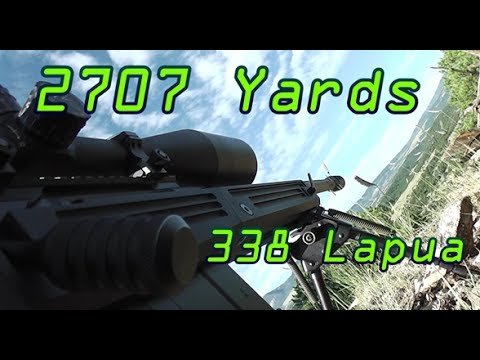 .338 lapua rifles - Subscribe to 1Grizzman @ https://www.youtube.com/1Grizzman I attempt to shoot a steel torso target at a distance of 2707 yards 1.54mi was the GPS reading. Co...