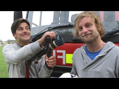 Under Armour Hoodie Gets Fire Engine Test   Kit Ep3