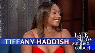 Video Tiffany Haddish Doesn't Need Men, She Has A Blanket MP3, 3GP, MP4, WEBM, AVI, FLV September 2018