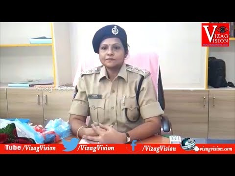 ACP Charge taken Vizag City West zone G.Swarupa Rani in Visakhapatnam,Vizagvision...