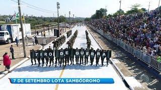 Desfile de 7 de setembro lota sambódromo em Bauru