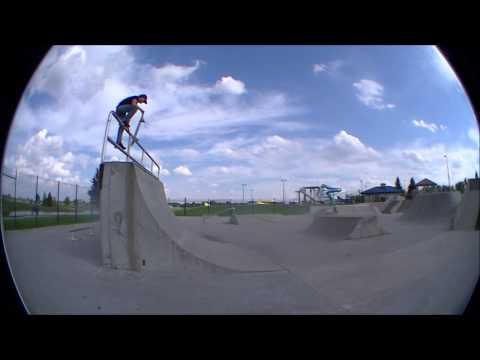 Ankeny, Iowa Skatepark Clips -  Brandon Hanson