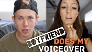 BOYFRIEND DOES MY VOICEOVER