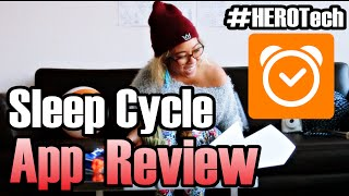 #HEROTech weekly App Review. Here's how to get started with the Sleep Cycle app. Sleep Cycle is a smart alarm clock that tracks your nightly sleep patterns and waits to gently wake you up in the morning during your most optimal time (When you're sleeping the lightest).This app has helped resist my urge to snooze because waking up during the lightest phase of sleep feels more natural and ironically less alarming. I've been experiencing insomnia lately and its so far helped me 1) Awaken feeling more rested 2) Track my sleep phases through nifty graphs!Over time I will be able to tailor a new night routine to best reflect my working sleep patterns...hopefully curing the insomnia! #winningWHAT ALARM CLOCK ARE YOU USING? Do you prefer traditional clocks or apps? Leave a comment!Download Sleep Cycle for iOS: https://itunes.apple.com/app/apple-store/id320606217?pt=63263&ct=scsite&mt=8Download Sleep Cycle for Android: https://play.google.com/store/apps/details?id=com.northcube.sleepcycleWebsite: https://sleepcycle.comJohn Lee Dumas Podcast I mentioned: http://www.eofire.com/daily/THNX JLD IF YOU'RE WATCHING!!Our Miracle Morning Interview with Hal Elrod: https://www.youtube.com/watch?v=laVVxL2HepIHEY HAL! :-Dup, Up and AWAY!Super Ivi, The Hashtag HEROPS: you have an awesome suggestion for next weeks app review, share the wealth. Keep rockin' peeps ;-)Thank you to our sponsors!!MessQueen New York: http://messqueen.com/Follow The Adventures @TheHashtagHEROhttps://www.Facebook.com/TheHashtagHEROhttps://Twitter.com/TheHashtagHEROhttps://Instagram.com/TheHashtagHEROSubscribe to our mailing list receive updates on Events, Hangouts, News and all things super!http://www.TheHashtagHERO.com/events