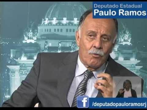 Crise Financeira do Estado em debate - Deputado Estadual Major PMERJ Paulo Ramos
