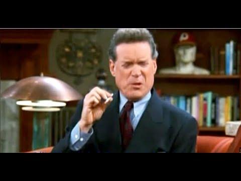 Murphy Brown - Jim & Murphy Smoking (Season 10 Ep. 6) Edited
