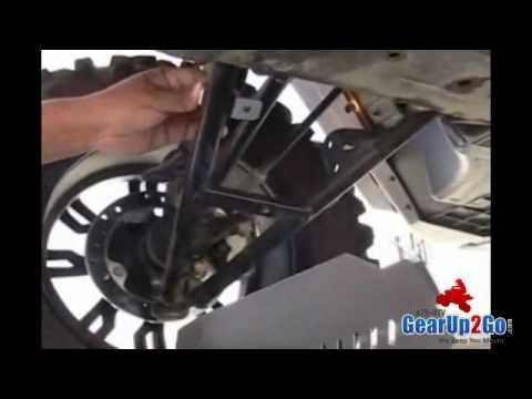 Can-Am Commander EMP CV Boot A-arm Guards Install