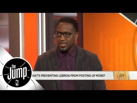 Tracy McGrady: 'I want 1 game where LeBron has 85% of his offense on the post'   The Jump   ESPN