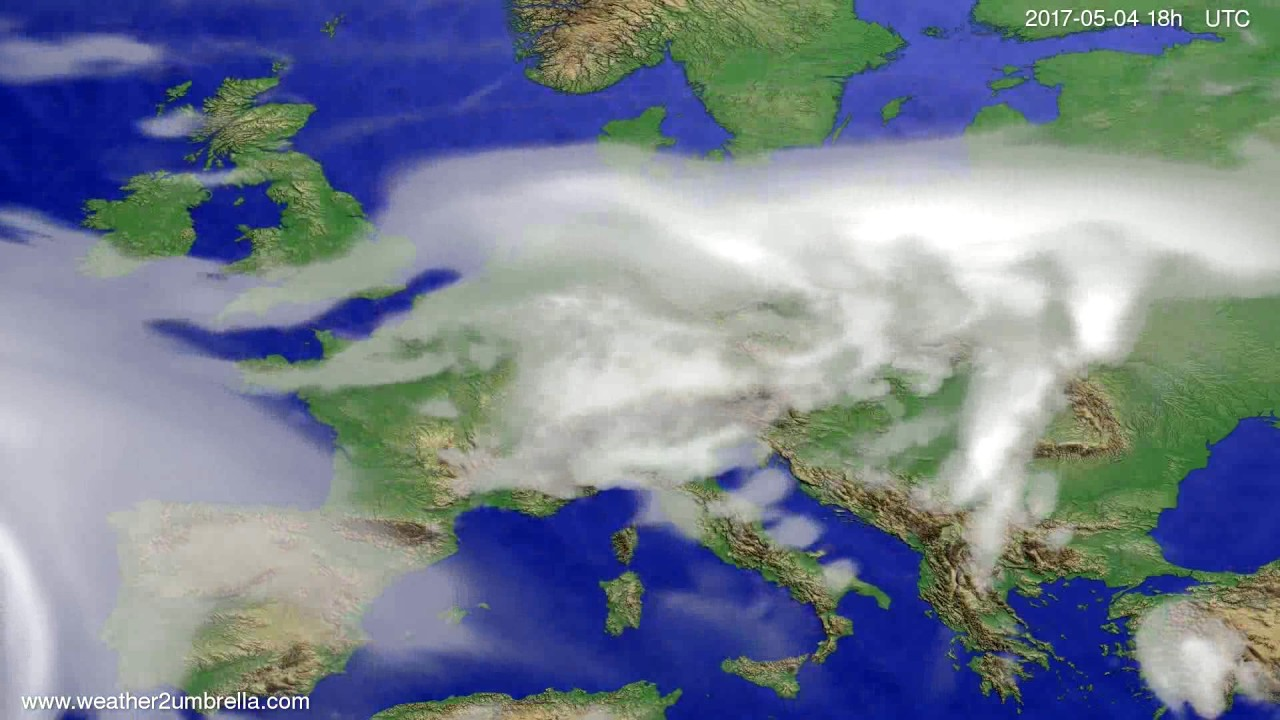 Cloud forecast Europe 2017-05-01
