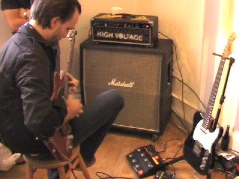 Tim Christensen playing on TC Electronic Nova System