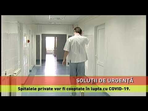Spitalele private, incluse în lupta cu noul coronavirus