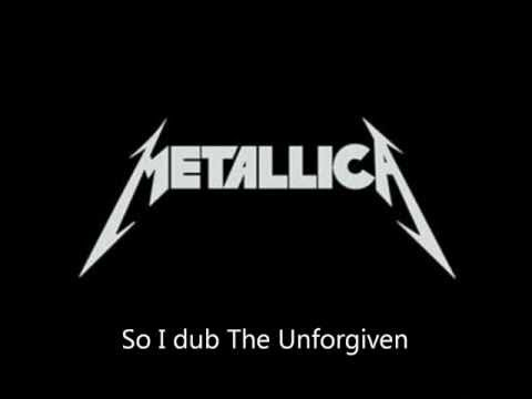 "metallica - ""the unforgiven"""