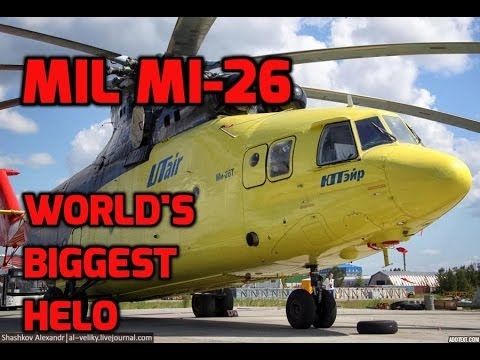 Giant Helicopter (Mil Mi-26) -...