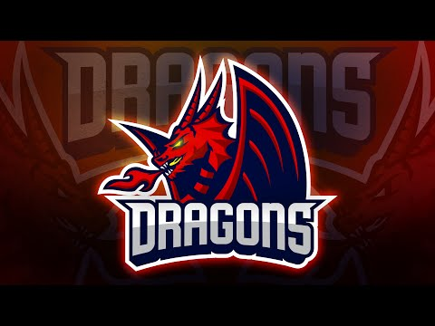 Adobe Illustrator Tutorial:   Design E Sports / Sports Logo For Your Team -  Dragons Logo