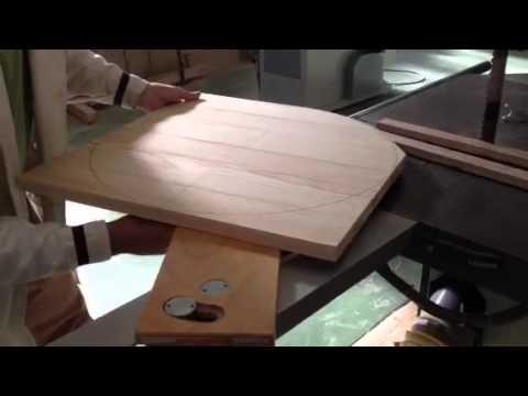Fabricar una mesa videos videos relacionados con for Como hacer una mesa redonda de madera
