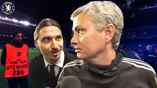 When Zlatan surprised Jose