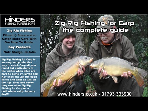 Zig Rig Fishing for Carp the complete guide