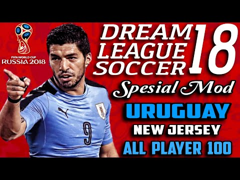Download Dream League Soccer 18 Mod Uruguay Fifa World Cup Russia 2018 | Hack Unlimited Money