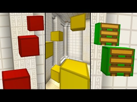 Minecraft / RED / YELLOW / GREEN / PARKOUR! With PrestonPlayz & Kenny