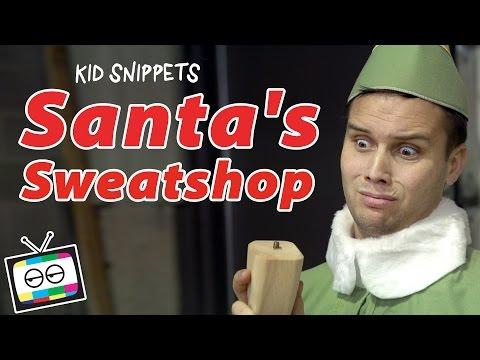 Santa's Sweatshop - Kid Snippets