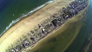 FARO | ALGARVE - Ilha De Faro VS Ria Formosa Portugal By Drone